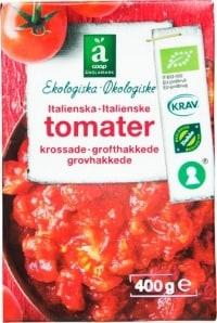 Coop Änglamark Krossade tomater test