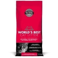 Worlds Best Cat Litter test