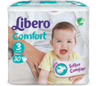 Libero Comfort - bäst i test bland Blöjor 2019