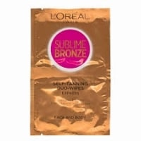 L'Oreal Sublime Bronze Self Tanning Express Wipes test