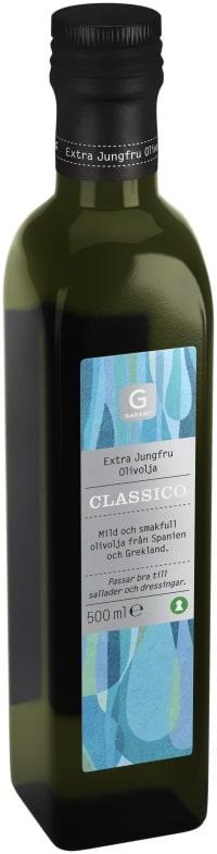 Garant Extra jungfru olivolja classico test