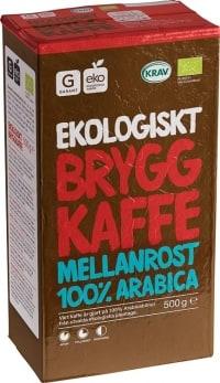 Garant Ekologiskt Bryggkaffe Mellanrost test