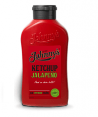 Johnnys Ketchup Jalapeño test