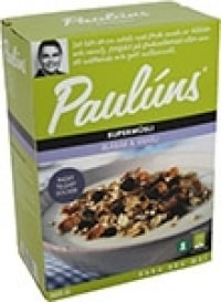 Paulúns Supermüsli Blåbär & Vanilj test