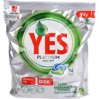 Yes Platinum Maskindiskmedel test
