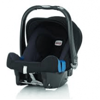 Britax Baby-Safe plus SHR II med Isofixbas test