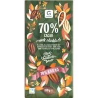Garant Mörk choklad 70% test