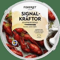 Fiskeriet Signalkräftor Snapskryddad test