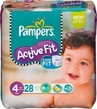 Pampers Active Fit test