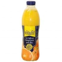 Vitafit Apelsinjuice med fruktkött test