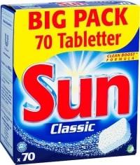 Sun Classic Maskindiskmedel test