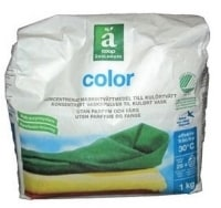 Coop Änglamark Miljö Color test