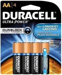 Duracell Ultra AA test