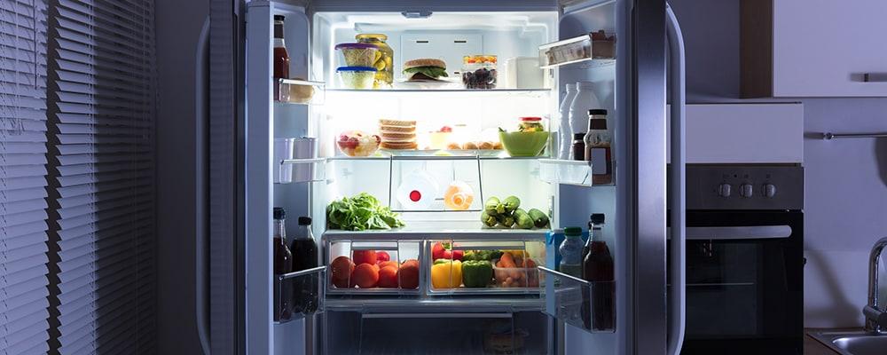 asko kylskåp test