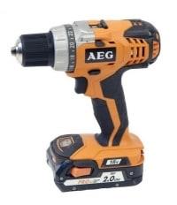 AEG BS 18C test