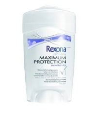 Rexona Women Maximum Protection, Sensitive Dry test