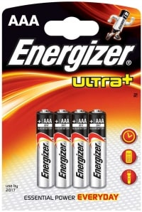 Energizer Ultra+ AA test