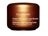Clarins Delicious Self Tanning Cream - bäst i test bland Brun-utan-sol 2017