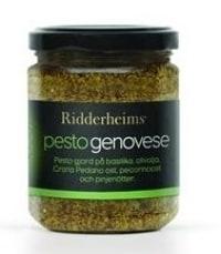 Ridderheims Pesto Genovese - bäst i test bland Pesto 2017