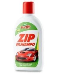 Turtle Zip Bilschampo test