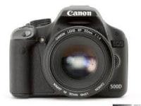 Canon EOS 500D test