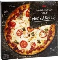 Ica Stenugnsbakad Pizza Mozzarella - bäst i test bland Fryst Pizza 2017