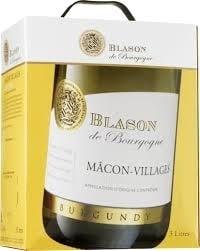 Blason de Bourgogne Mâcon-Villages Chardonnay test