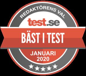 bäst i test kylskåp 2019