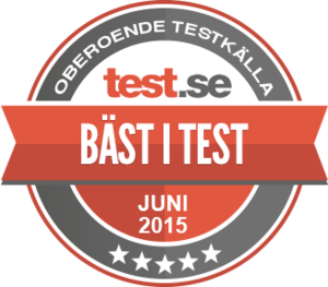 bäst i test luftmadrass 2015