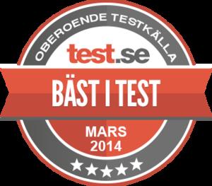 bäst i test gps 2016